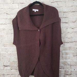 ELLEN TRACY Sweater SLEEVELESS SIZE XXL